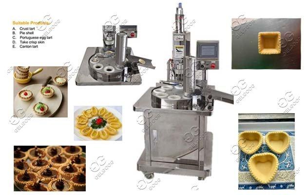 automatic tart sheller maker