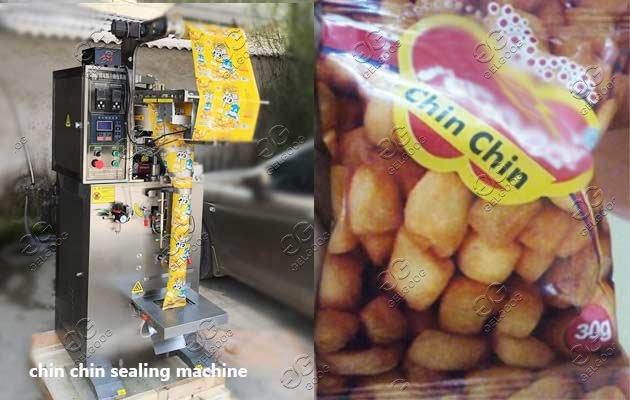 chin chin sealing machine