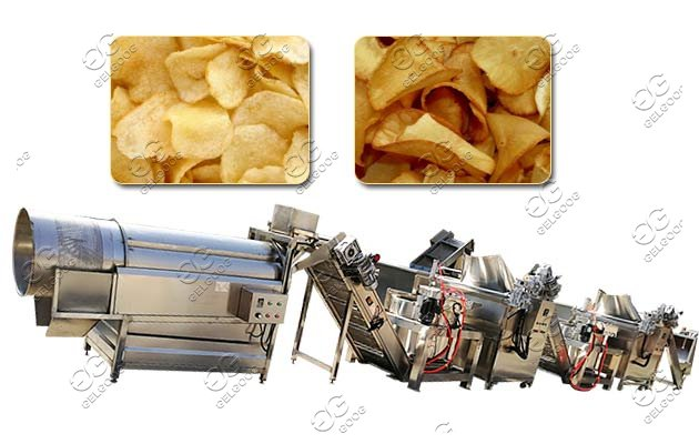 cassava potato chips machine price
