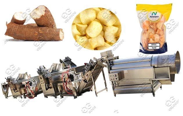 automatic cassava chips plant