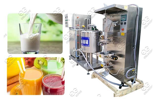 automatic juice sterilizer machine