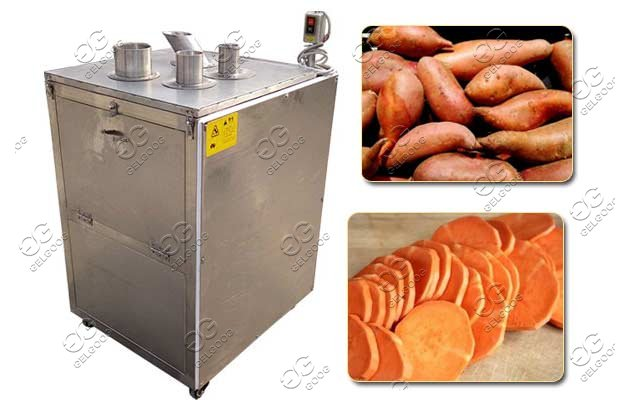 sweet potato chipper machine