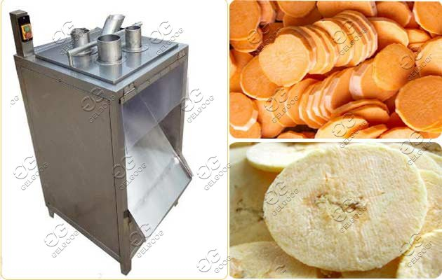 commercial chips slicer machine