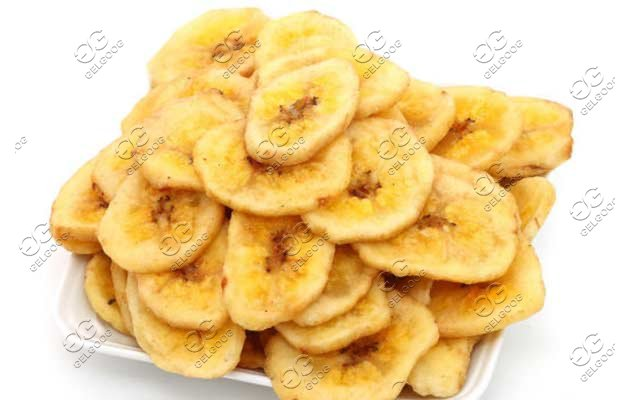 fried banana chips machine