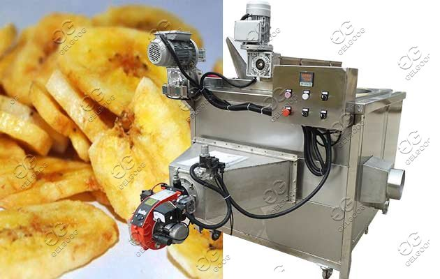 plantain chips frying machine