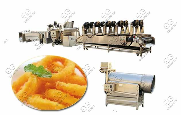fried crispy calamari machine price