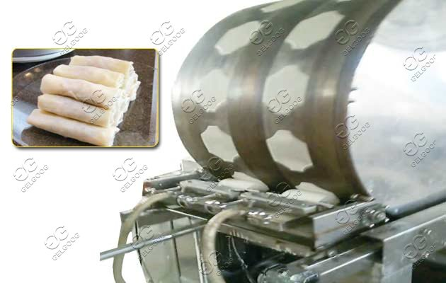 spring roll production line