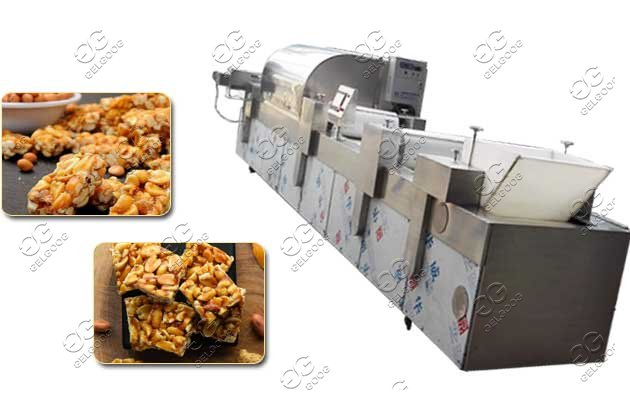 groundnut chikki forming machine