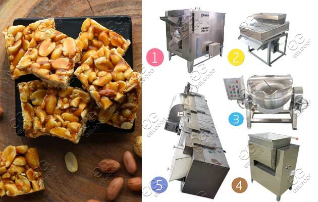 groundnut chikki production line
