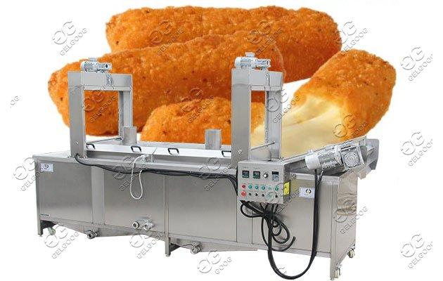 pizza cheese stick fryer machine