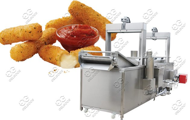 commercial cheese stick fryer machine