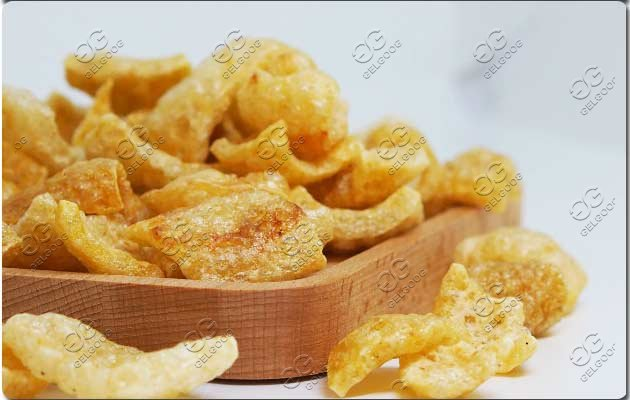 fried pork skin fryer machine