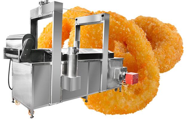 squid rings fryer machine