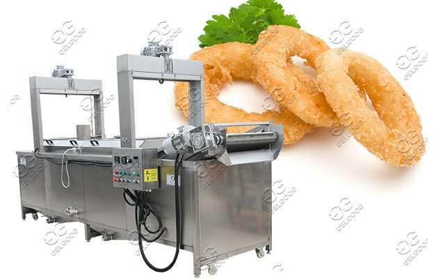 crispy calamari frying machine