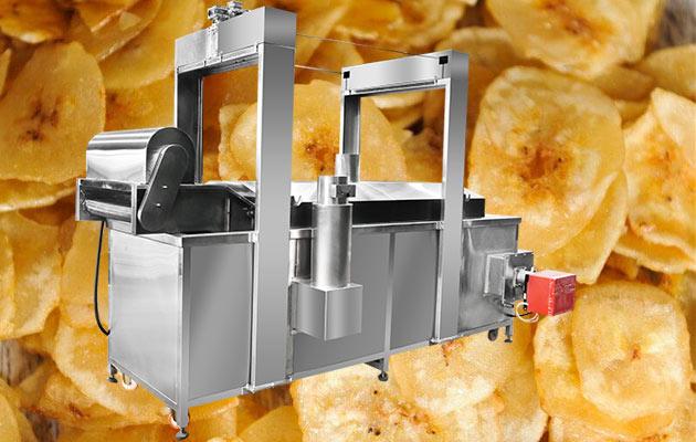 fried banana chips machine price