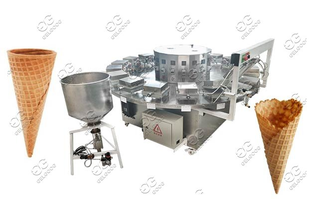 semi-automatic cone making machine supplier