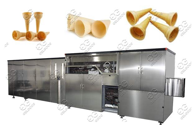 wafer cone making machine supplier