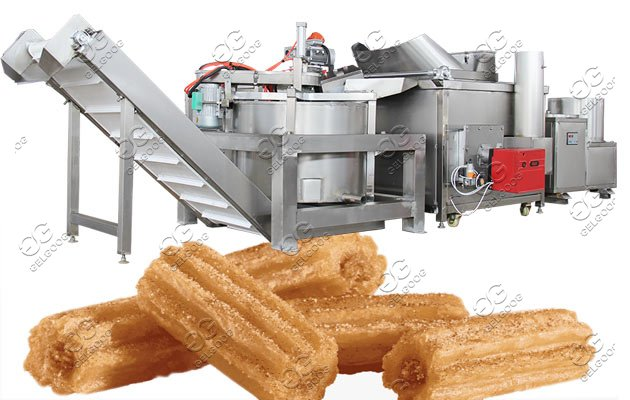 churros frying machine line