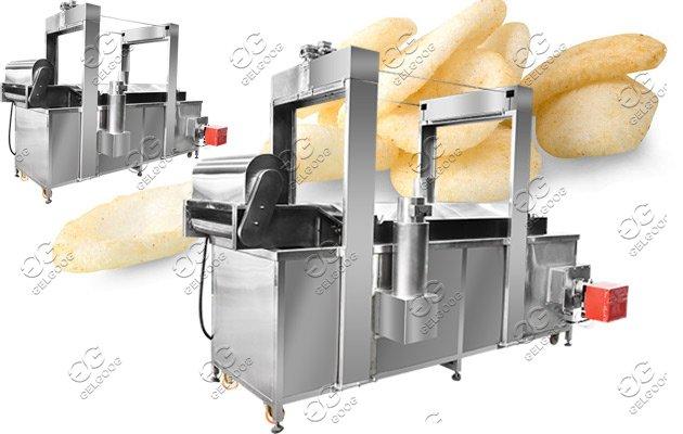 shrimp crackers frying machine