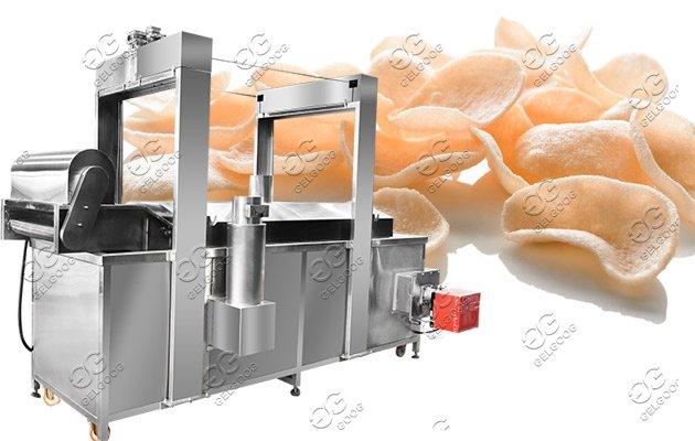 pellet chips fryer machine