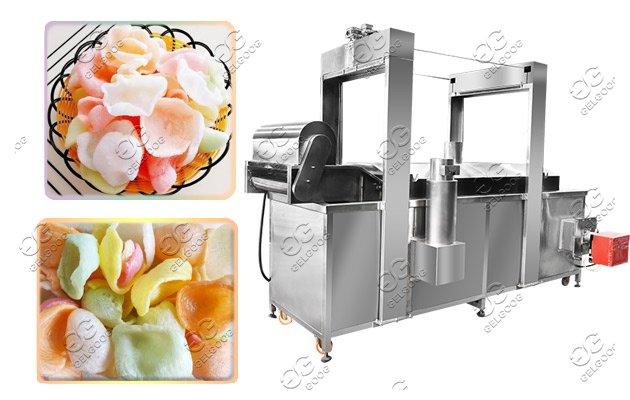 gas fryer machine