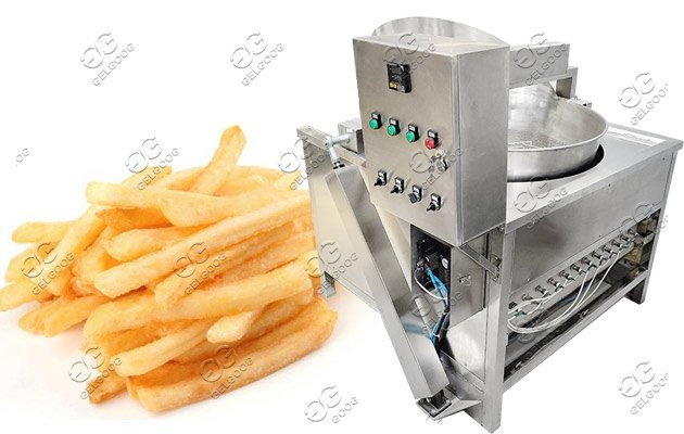 frying machine for chips peanut