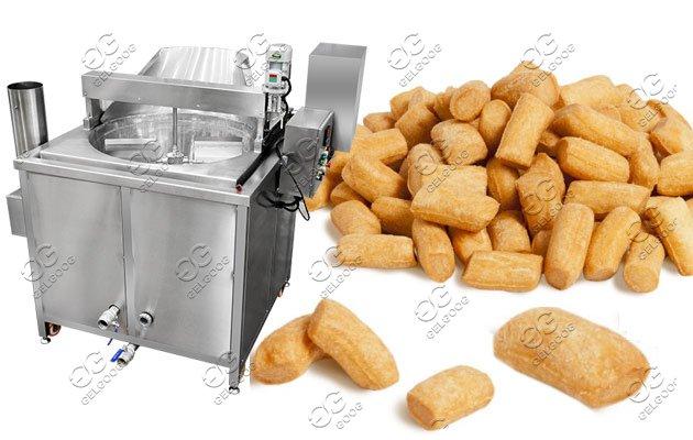 automatic chin chin fryer machine