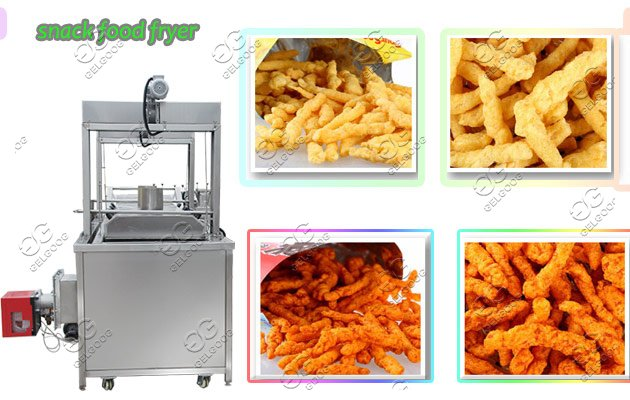 peanut continuous fryer machine