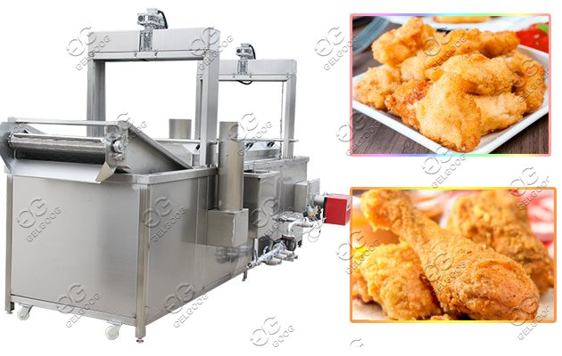 industrial frying machine for sale