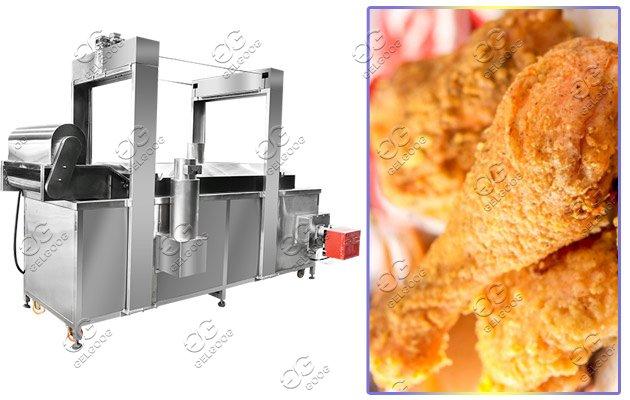 industrial frying machine