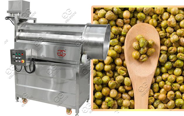 automatic peanut fryer machine