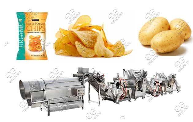 potato chips production line price
