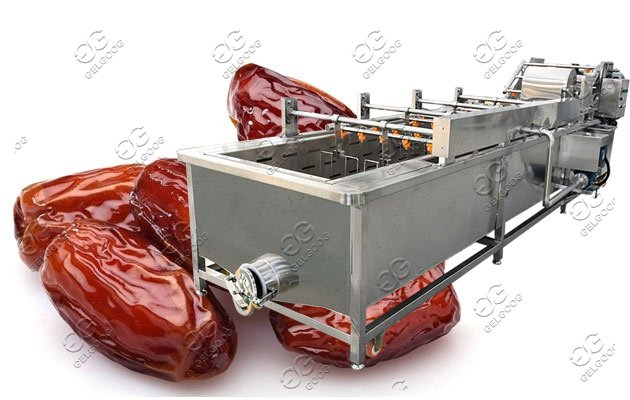 red date palm cleaning machine