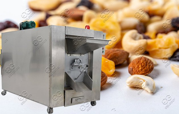 peanuts roasting machine