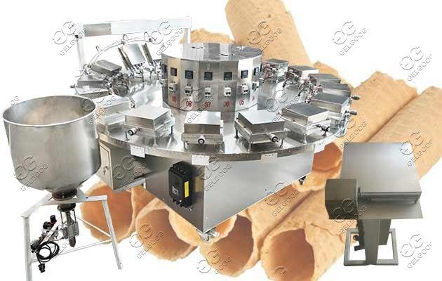 waffle roll making machine price