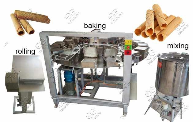 barquillos baking machine supplier