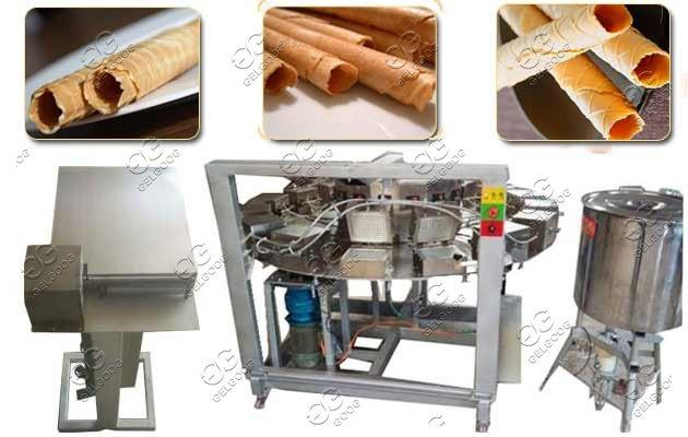waffle roll rolling machine price