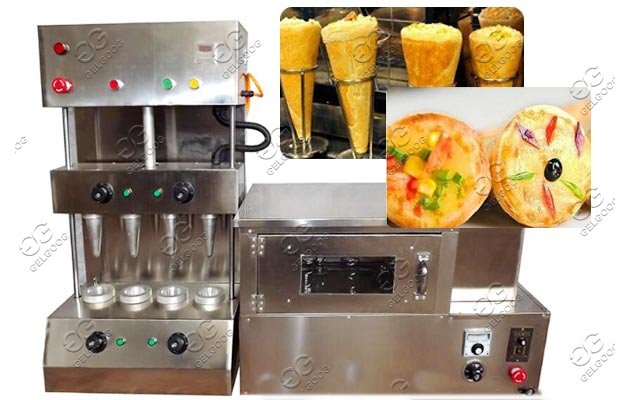 cone pizza small machine