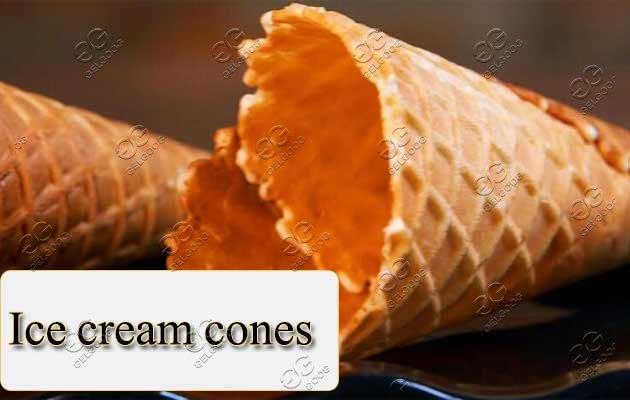ice cream cone machine price