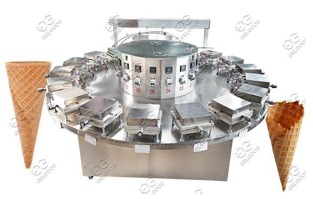semi-automatic ice cream cone machine
