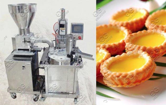 egg tart skin making machine