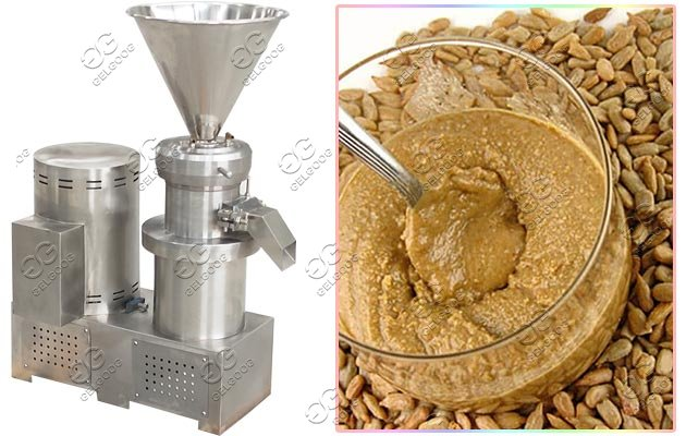 commercial sunflower butter grinding machine
