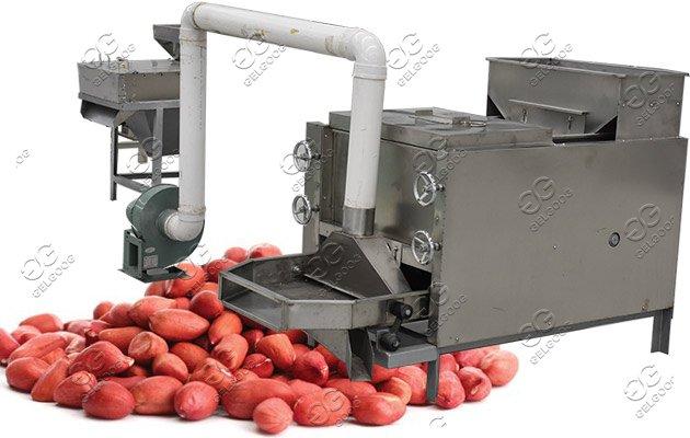peanut red skin peeling machine