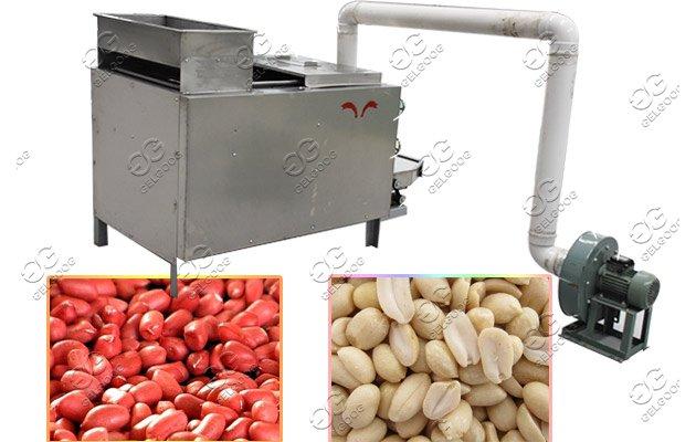 peanut peeler and breaker