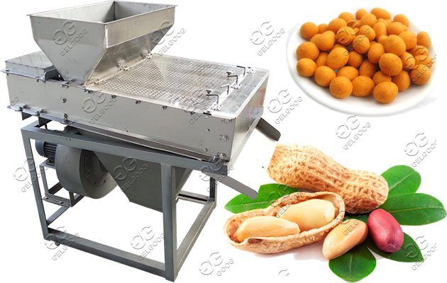 coated peanut fryer machine