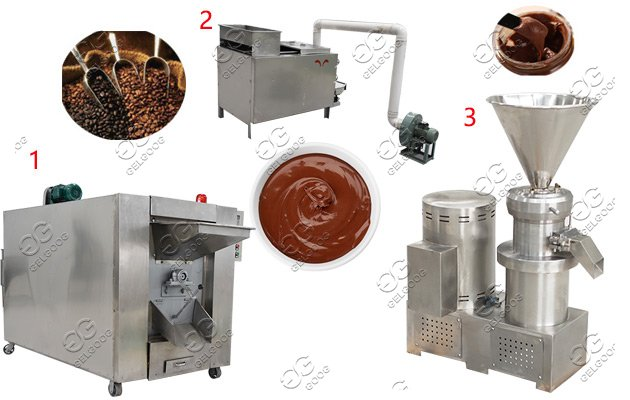 cocoa bean processing machine