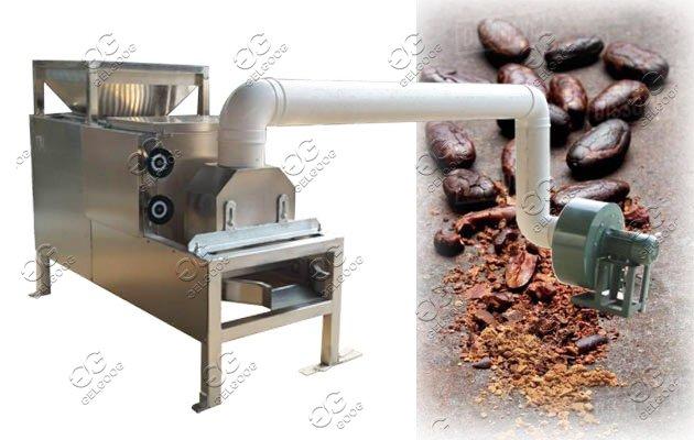 cocoa beans peeling machine