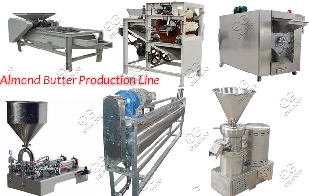 almond butter processing machine