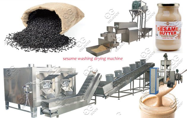 sesame tahini production line