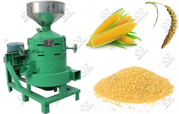 machine for peeling oat
